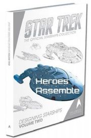 Star Trek Official Collection Designing Starships Volume Two Hardcover Eaglemoss